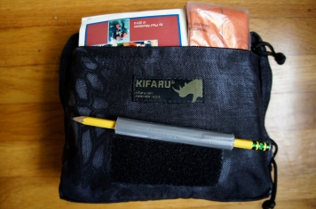 Front pocket contents