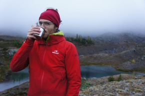 Tea and hot water are a great way to stay hydrated and keep up your core temperature. Photo: Monica Lauw.