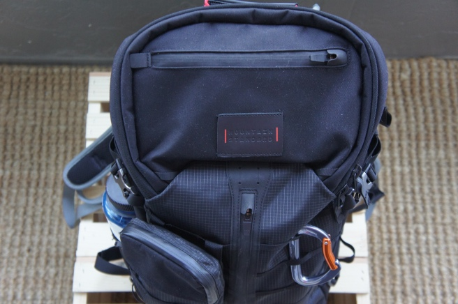 Seen with an accessory pouch attached to the MTNMOLLE