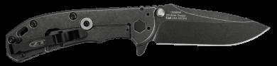 ZT 566 black wash. Note the frame lock