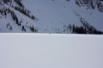 Skiers center. Photo: Will Kammin