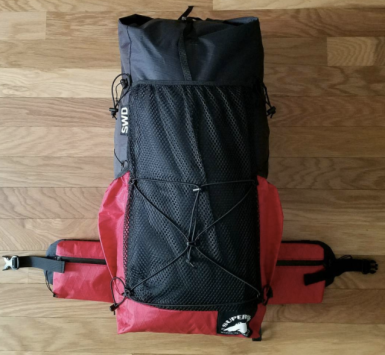 The Long Haul 50 in red and black X-Pack.