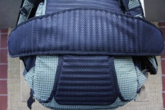 For lighter loads, or city travel, the hip belt is easily removable.
